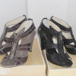 MICHAEL KORS STRAPPY OPEN TOE SHOE COLLECTION
